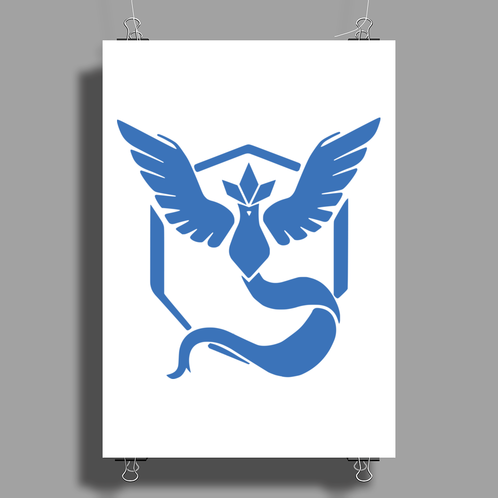 Pokemon Go Team Mystic Poster Print (Portrait)