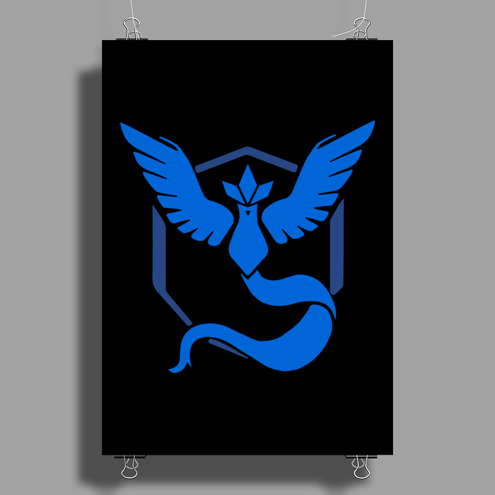 Pokemon Go - Team Mystic Poster Print (Portrait)