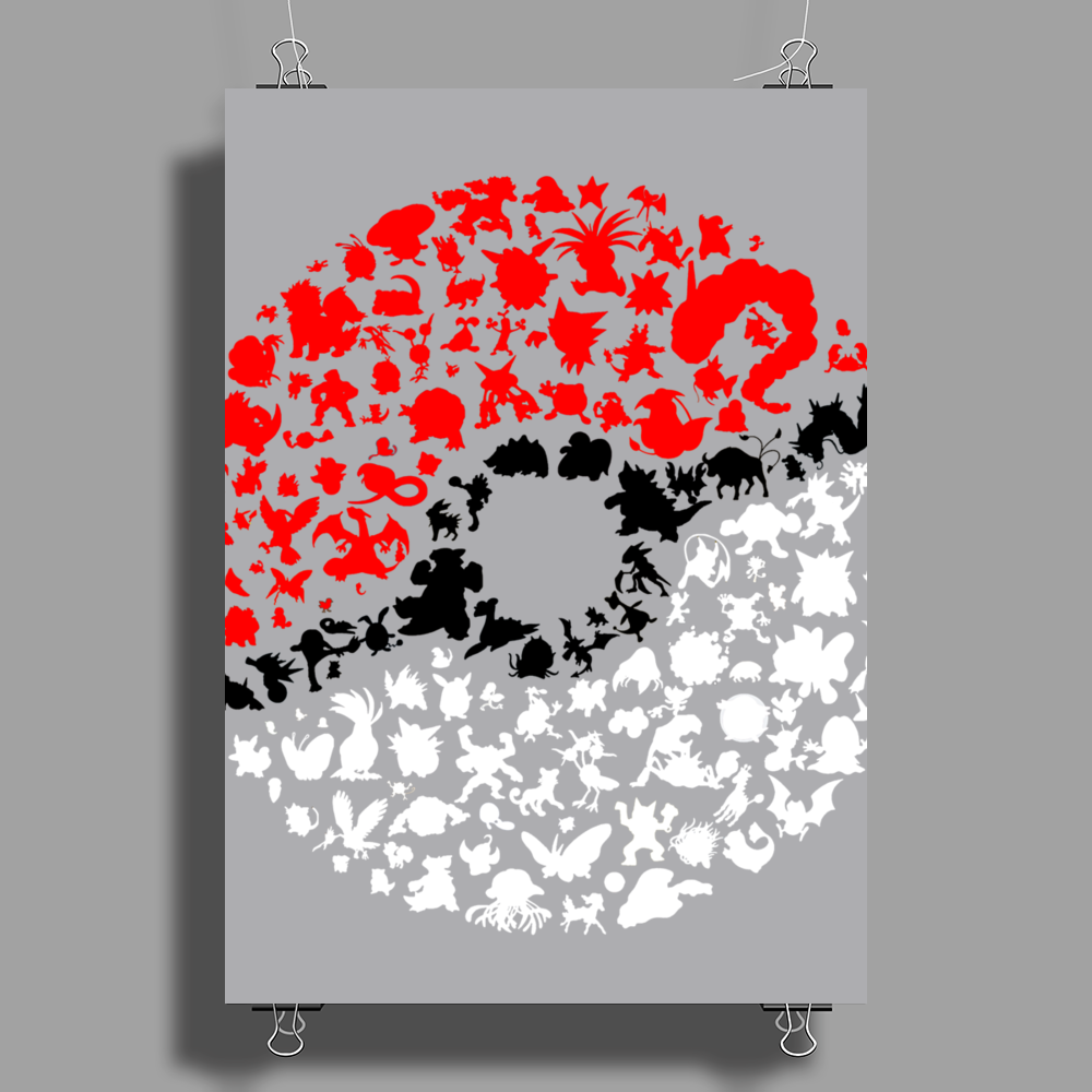Pokemon Poster Print (Portrait)