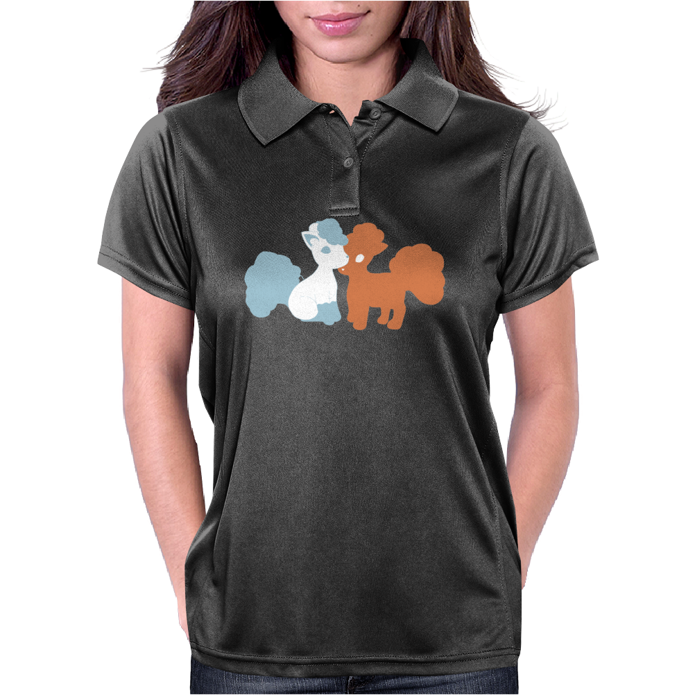 Pokemon Sun & Moon, Vulpix Alola Form! Womens Polo