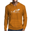 Poker ~ Fish To Shark Evolution ~ Mens Funny Poker Mens Hoodie