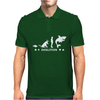 Poker ~ Fish To Shark Evolution ~ Mens Funny Poker Mens Polo