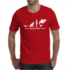 Poker ~ Fish To Shark Evolution ~ Mens Funny Poker Mens T-Shirt