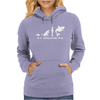 Poker ~ Fish To Shark Evolution ~ Mens Funny Poker Womens Hoodie