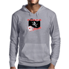 Poker Pirate Mens Hoodie