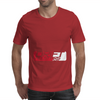 POLAND FLAG BLACK Mens Tee