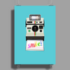 Polaroid Land Camera Poster Print (Portrait)