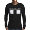 Police Public Call Box Mens Long Sleeve T-Shirt