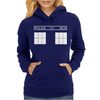 Police Public Call Box Womens Hoodie