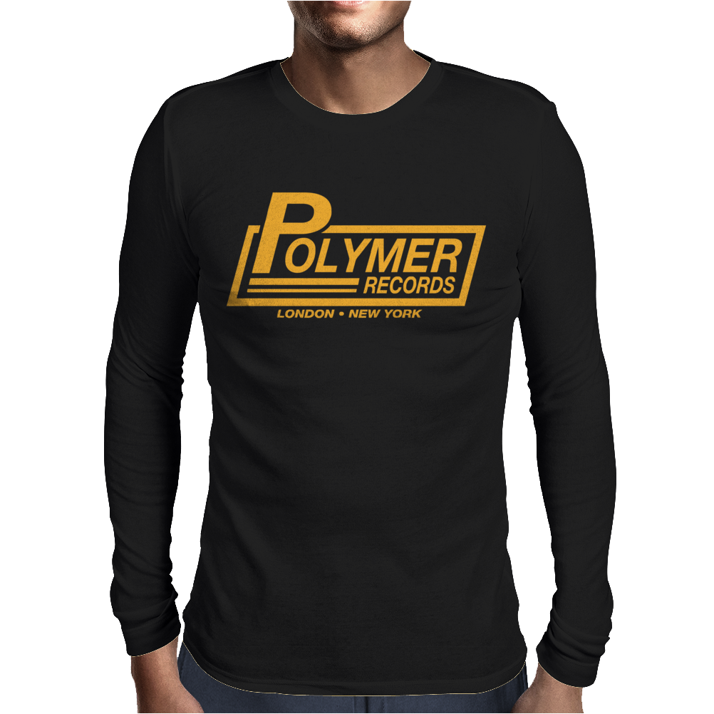 Polymer Records, Ideal Gift Or Birthday Present funny Mens Long Sleeve T-Shirt