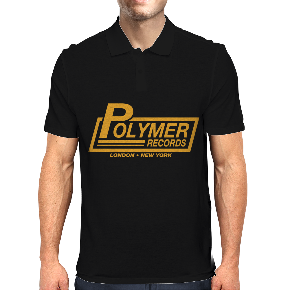Polymer Records, Ideal Gift Or Birthday Present funny Mens Polo