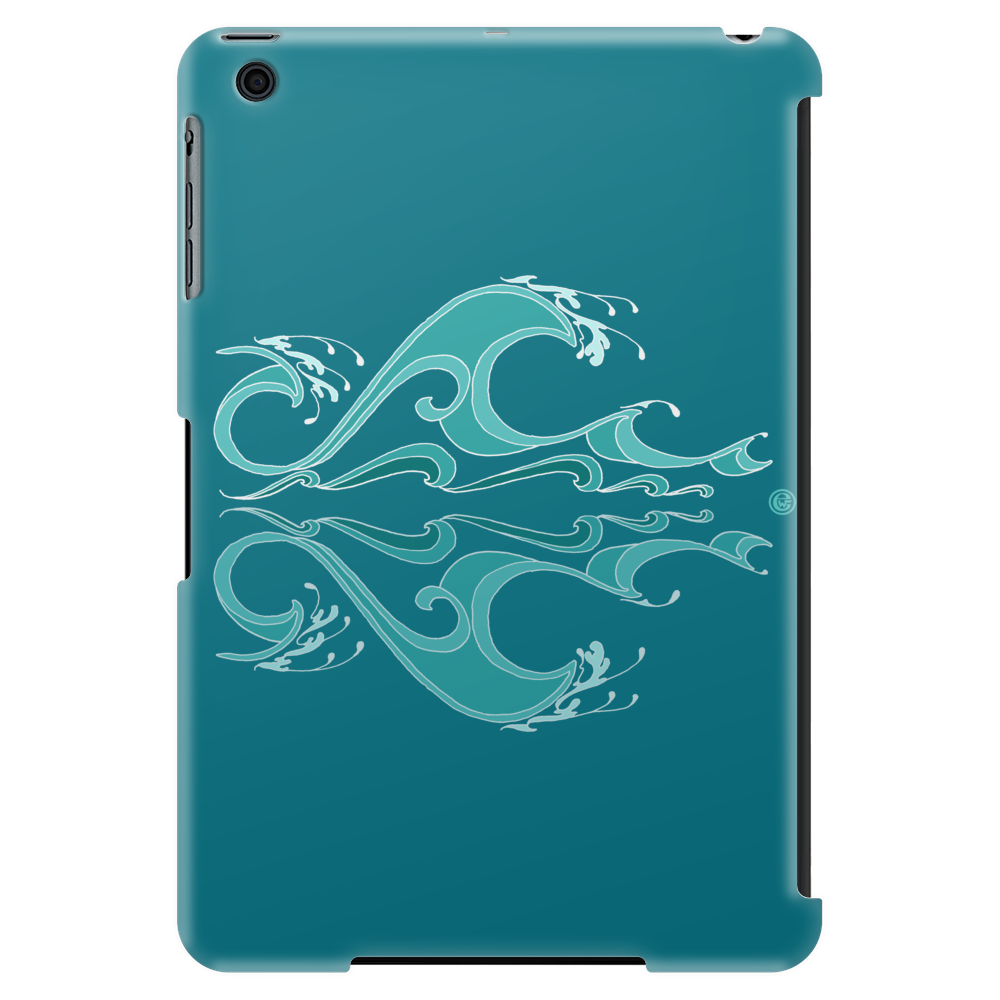Polynesian Wave Tablet (vertical)