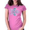 Polynesian Wave Womens Fitted T-Shirt