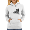 Pomeranian Dog Breed Illustration Womens Hoodie