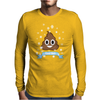 Poop Emoji is Cool for Christmas Mens Long Sleeve T-Shirt