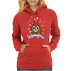 Poop Emoji is Cool for Christmas Womens Hoodie