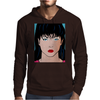 Pop Art Girl Amber Mens Hoodie