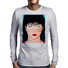 Pop Art Girl Amber Mens Long Sleeve T-Shirt