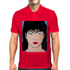 Pop Art Girl Amber Mens Polo