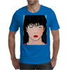 Pop Art Girl Amber Mens T-Shirt