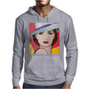 Pop Art Girl Ingrid 1 Mens Hoodie