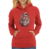 Popeye Cartoon Hardcore Womens Hoodie