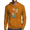 Popeye Spinach Retro Mens Funny Mens Hoodie