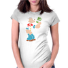 Popeye Spinach Retro Mens Funny Womens Fitted T-Shirt