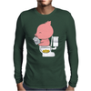 pork Mens Long Sleeve T-Shirt