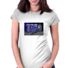 Port-a-TARDIS? Womens Fitted T-Shirt