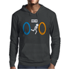 Portal Bathroom Parody Video Game Mens Hoodie