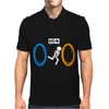 Portal Bathroom Parody Video Game Mens Polo