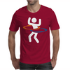 Portal Hula Hooping With Portals Mens T-Shirt