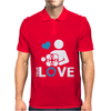Portal true love - Aperture lab video gamer teleport online pc goal tee Mens Polo