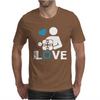 Portal true love - Aperture lab video gamer teleport online pc goal tee Mens T-Shirt