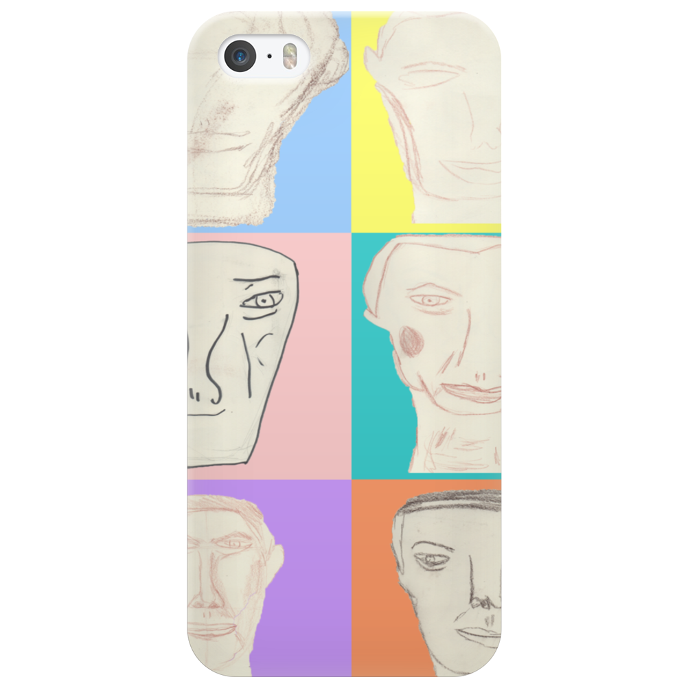 Portrait of a Man Phone Case