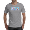 Posi and Nega Super Stars Mens T-Shirt