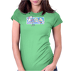 Posi and Nega Super Stars Womens Fitted T-Shirt