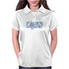 Posi and Nega Super Stars Womens Polo