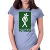 PotHead Womens Fitted T-Shirt