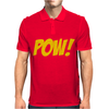 Pow Comic Book Mens Polo
