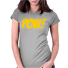 Pow Comic Book Womens Fitted T-Shirt