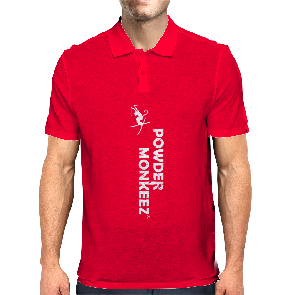 Powder Monkeez Mens Polo