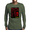 Power Death Print Mens Long Sleeve T-Shirt