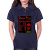 Power Death Print Womens Polo