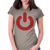 POWER NERD Womens Fitted T-Shirt