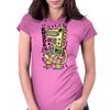 Power on Womens Fitted T-Shirt