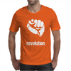 Power To The People Fist Revolution Mens T-Shirt