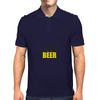 Powered by Beer Mens Polo