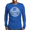 Powered by coffe Mens Long Sleeve T-Shirt